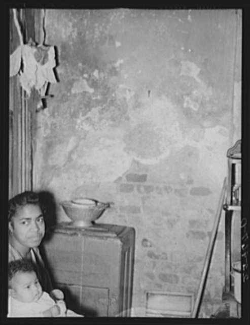 Washington, D.C. Slum interior