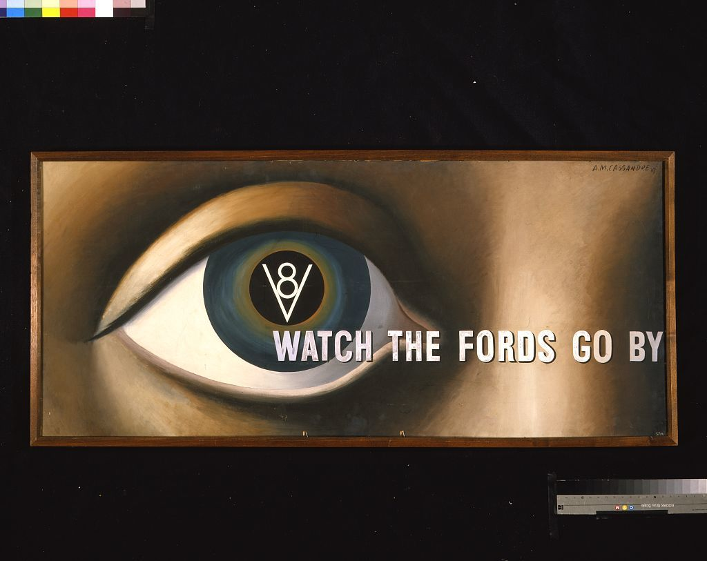 Watch the Fords go by / A.M. Cassandre 37.