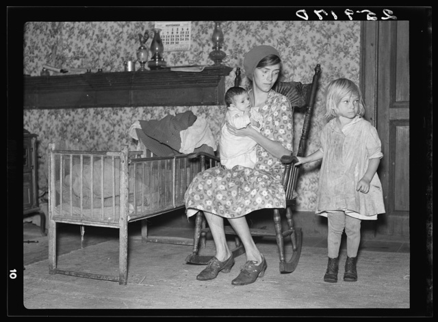 Wife and children of Ellery Shufelt. Albany County, New York