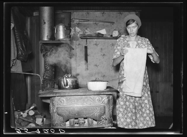 Wife of Ellery Shufelt. Albany County, New York