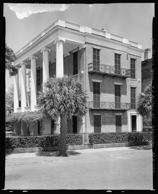 William Roper House, 9 East Battery, Charleston, Charleston County, South Carolina