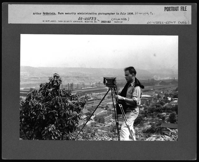 Arthur Rothstein, FSA (Farm Security Administration) photographer