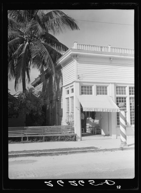 Barber shop. Key West, Florida