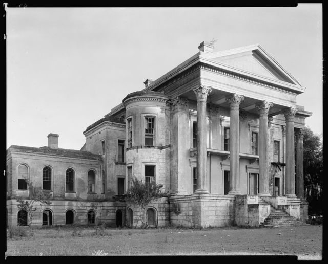 Belle Grove, front, White Castle vic., Iberville Parish, Louisiana