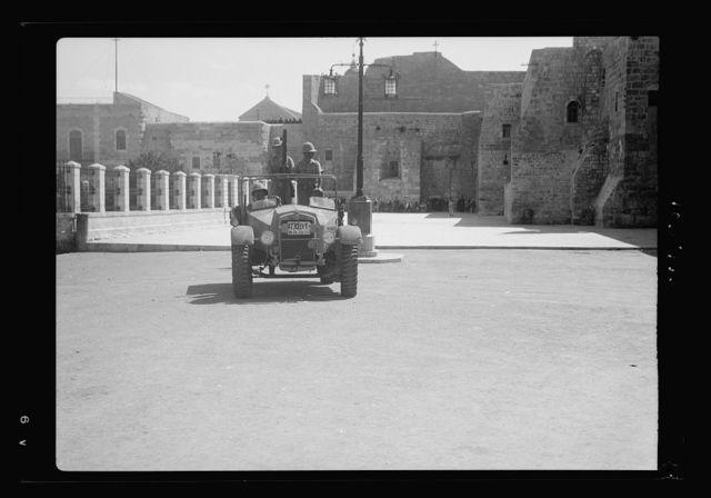 Bethlehem police barracks and post office burned by Arab rebels