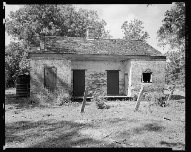Brick Cabin, Baldwin vic., St. Mary Parish, Louisiana