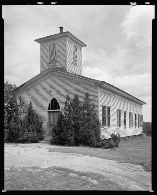 Brittain Church, route 181, Rutherford County, North Carolina
