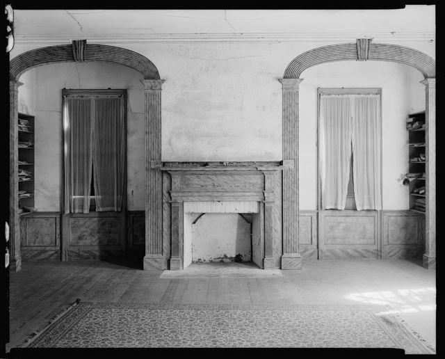 Burton House, Beattie's Ford Plantation, Lincoln County, North Carolina