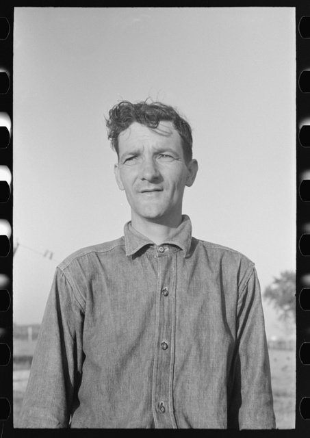 Cajun sugarcane farmer near New Iberia, Louisiana