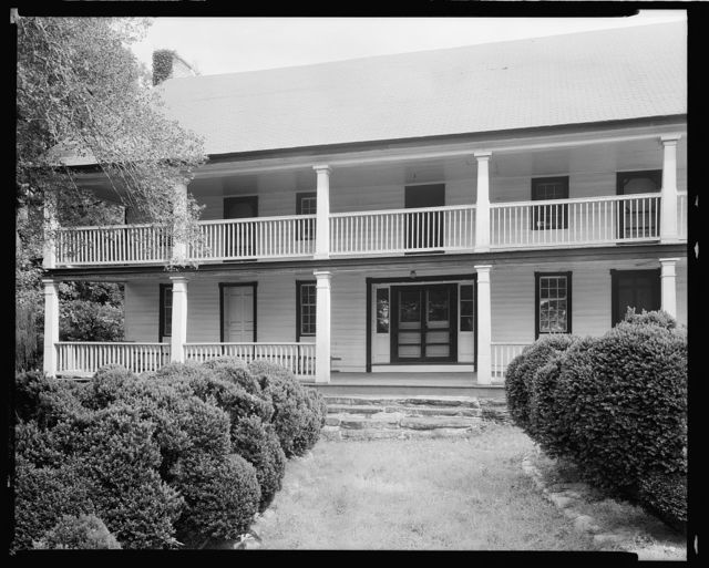 Carson House, Marion vic., McDowell County, North Carolina