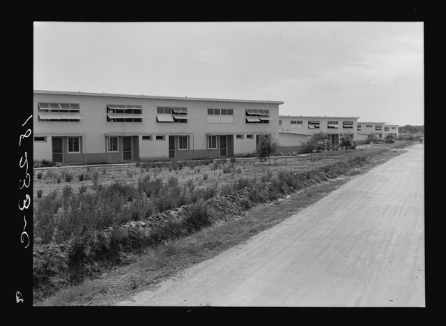 Chandler project, Farm Security Administration, Arizona. A housing project for seasonal agricultural workers