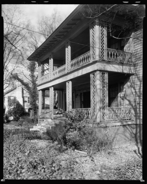 Cicero Barker house, west Innes St., Salisbury, Rowan County, North Carolina