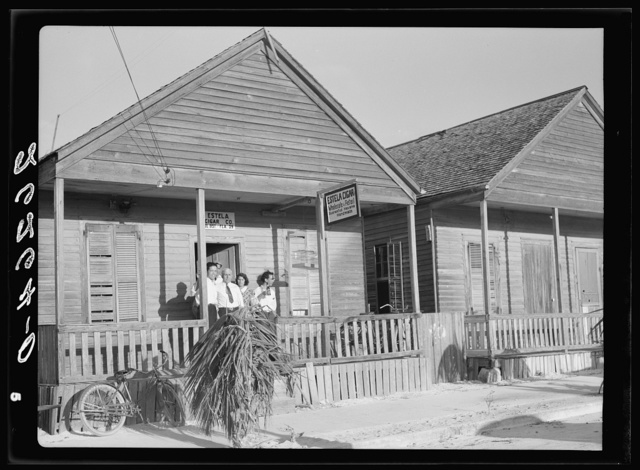 Cigar maker's home. Key West, Florida