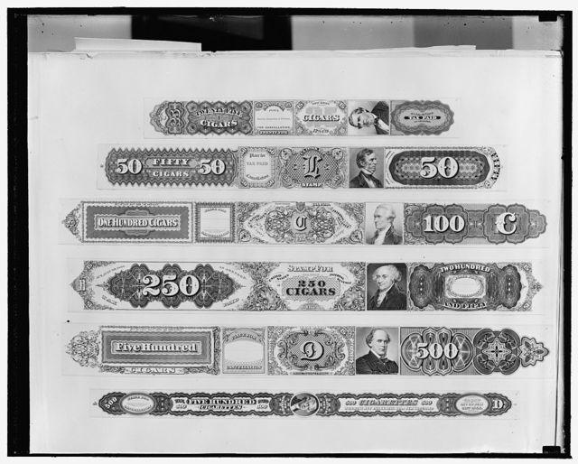 Cigar stamps [...] Paramount News
