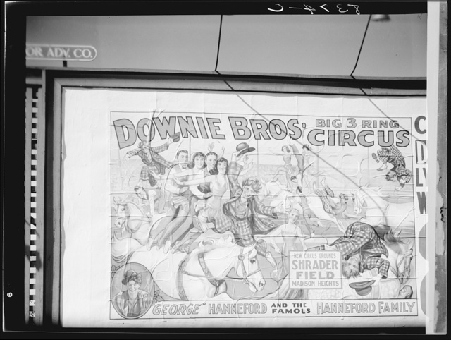 Circus poster. Lynchburg, Virginia