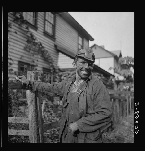 Coal miner (Polish). Capels, West Virginia