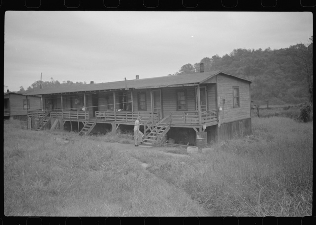 Coal miners' shacks. Scotts Run, West Virginia