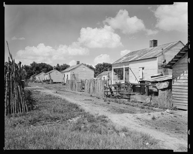 Columbia Plantation cabins, Louisiana