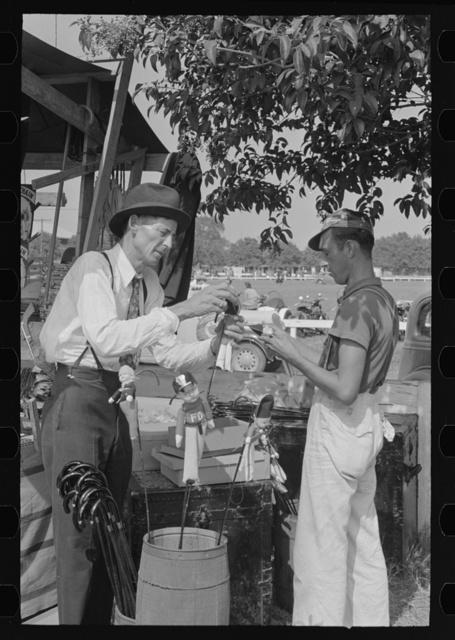 Concessionaire, state fair, Donaldsonville, Louisiana