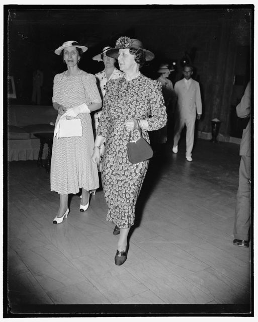 [Crown Princess] & Mrs. Cordell Hull