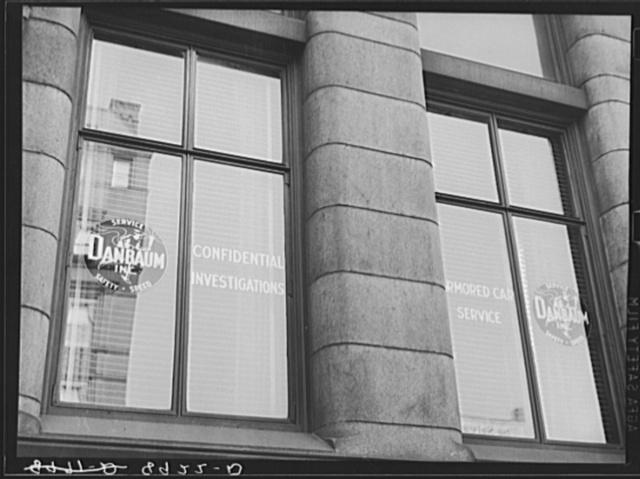 Danbaum service, Midwest strikebreakers. Omaha, Nebraska