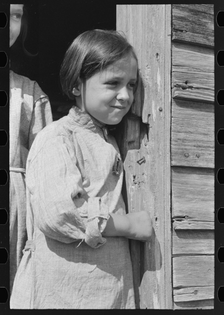 Daughter of sugarcane laborer, near New Iberia, Louisiana