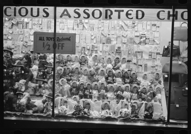 Drugstore window, Washington, D.C.