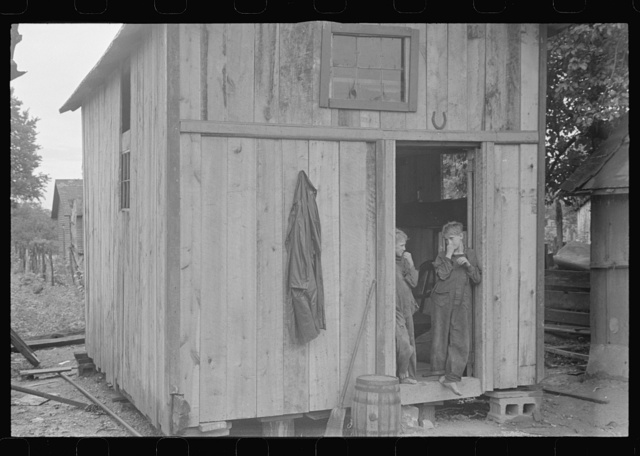 "Dwellers in Circleville's ""Hooverville,"" central Ohio (see general caption)"