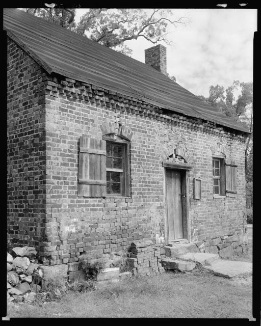 Early Quaker Meeting house and school, Jamestown, Guilford County, North Carolina