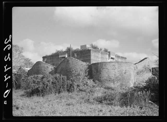East Martello Tower. Old Spanish fort, Key West, Florida
