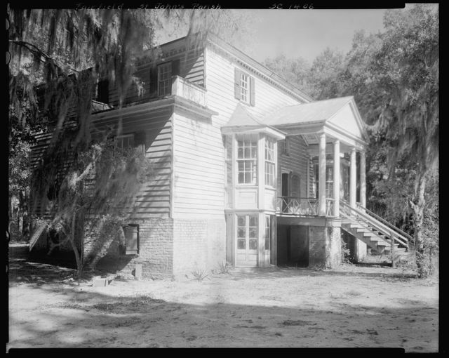 Fairfield, Lynch House, McClellansville vic., Charleston County, South Carolina