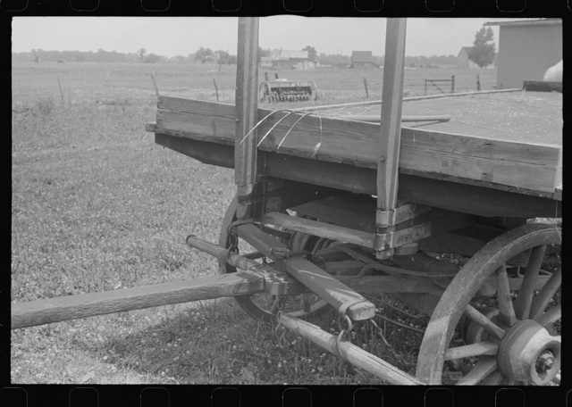 Farm wagon, central Ohio