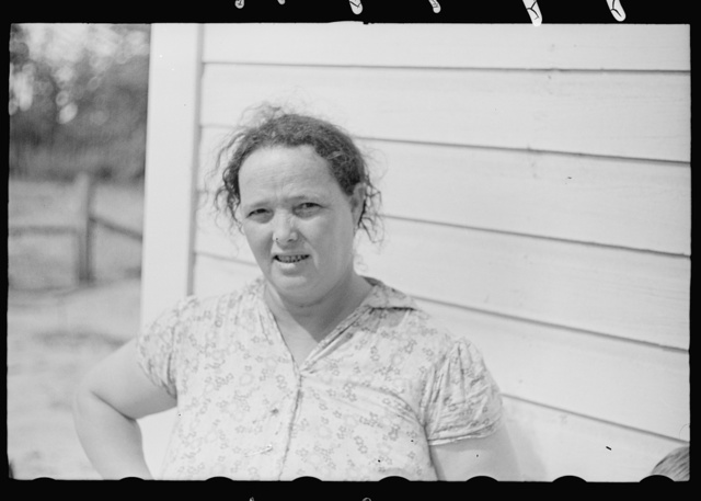 Farm wife at Irwinville Farms, Georgia