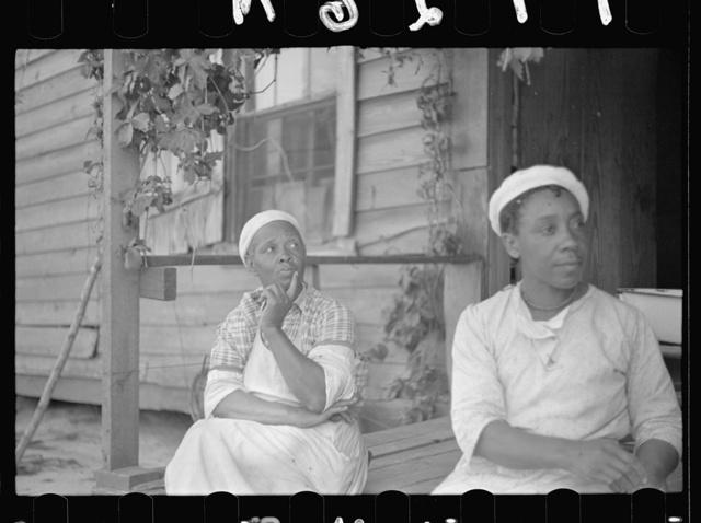 Farm woman, Halifax County, North Carolina