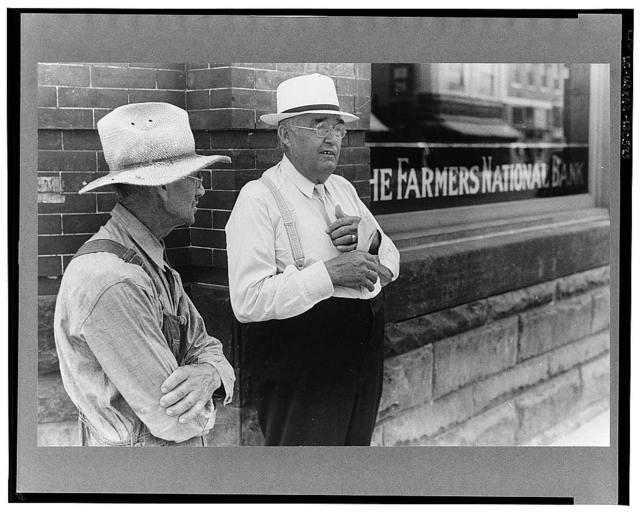 Farmer and banker, Plain City, Ohio