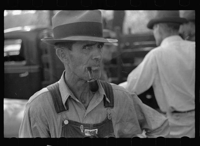 Farmer at the auction. Oskaloosa, Kansas