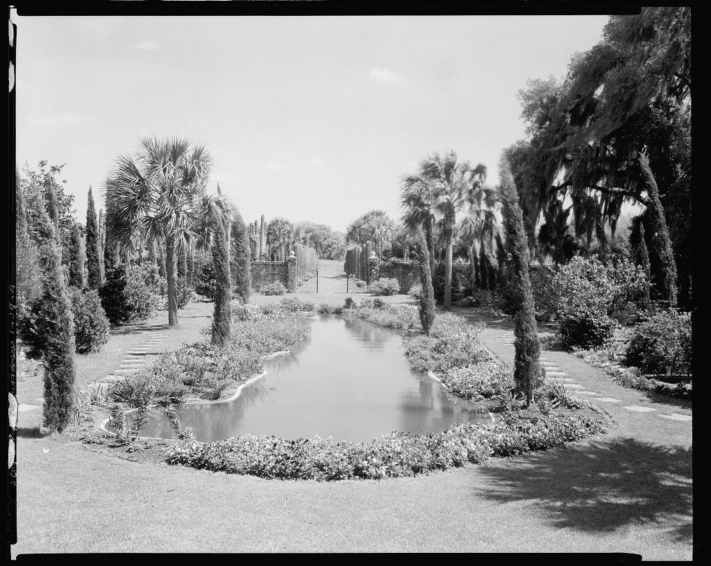 Fenwick Hall Plantation, Garden Pond, John's Island, Charleston County, South Carolina