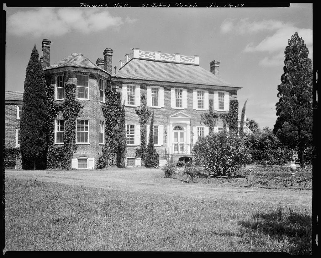 Fenwick Hall Plantation, John's Island, Charleston County, South Carolina