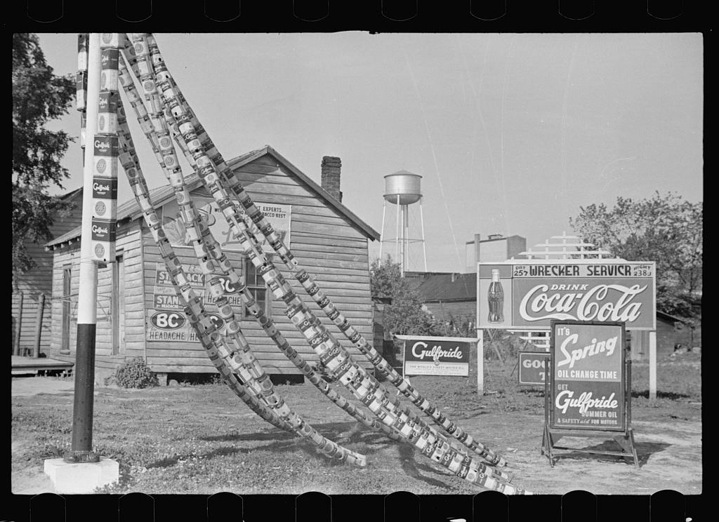 Filling station, Enfield, North Carolina