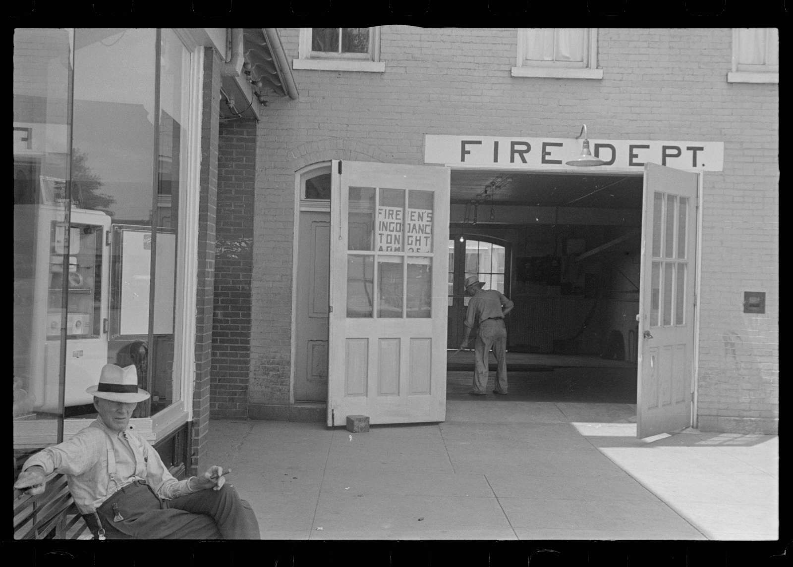 Fire department, Somerset, Ohio