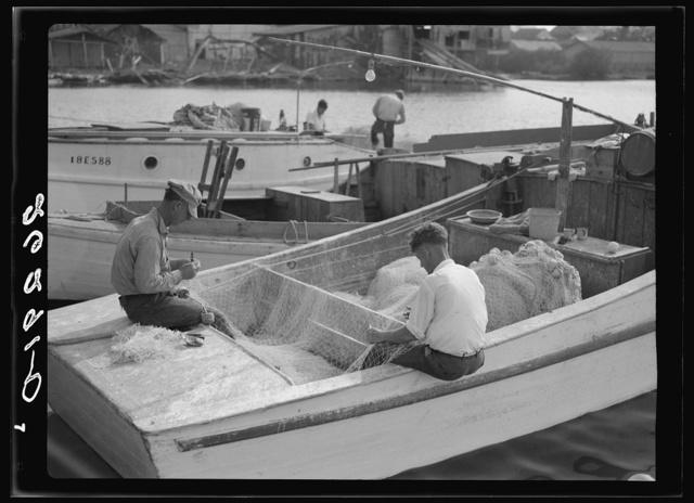 Fishermen. Key West, Florida