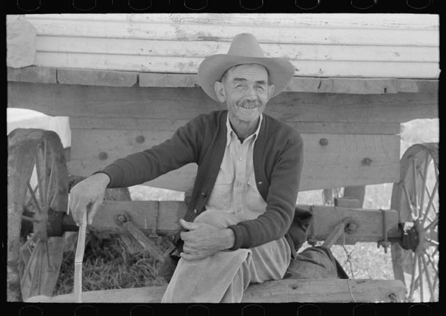 Foreman of sugarcane plantation near New Iberia, Louisiana