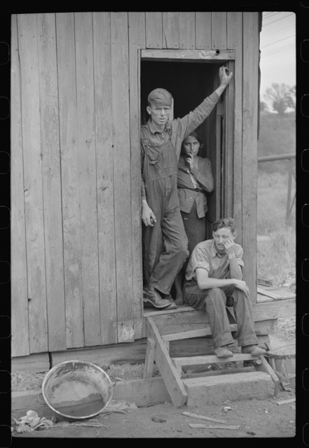 Former coal miner, worked twelve years for Chaplin Coal Company as hand coal loader. He and several others complained to company about conditions not being up to NRA (National Recovery Administration) standards. All lost jobs. He's now on WPA (Works Progress Administration) at thirty-eight dollars and twenty-five cents per month. Scotts Run, West Virginia