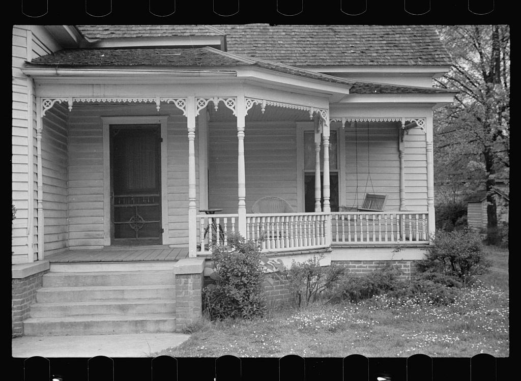 Front porch, Enfield, North Carolina