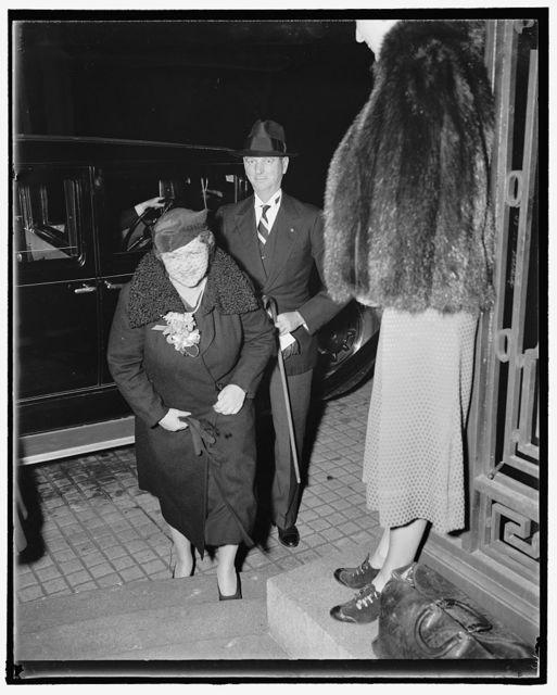 General & Mrs. Jonathan Wainwright at Soviet party