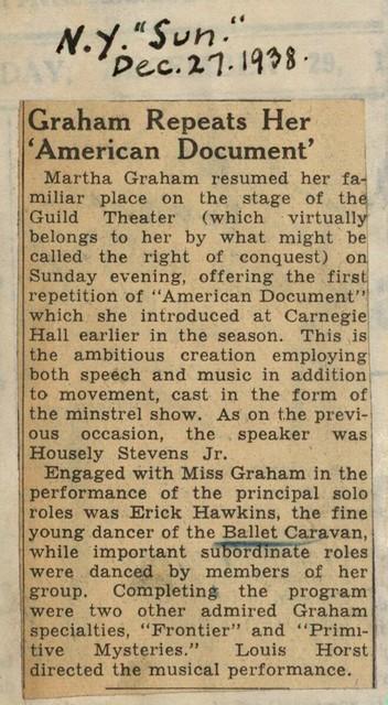 Graham Repeats Her 'American Document'