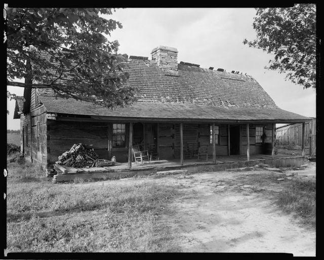 Gregg Log Cabin, Blowing Rock vic., Caldwell County, North Carolina