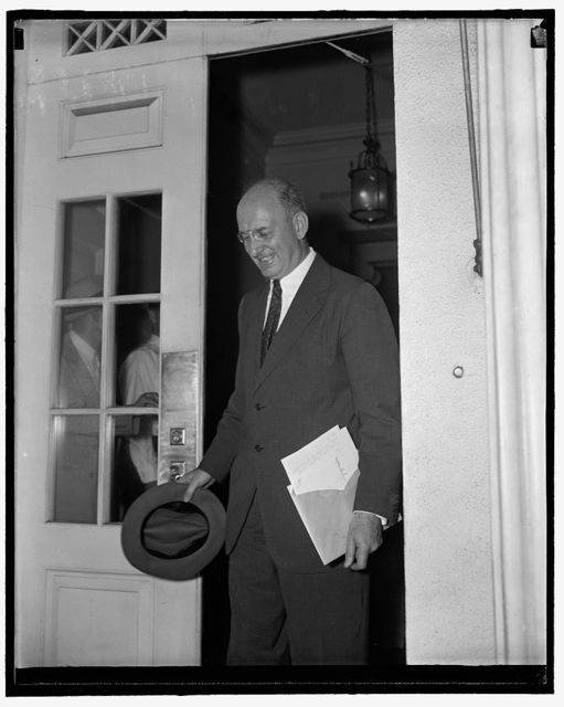 [Henry Morgenthau? White House, Washington, D.C.]