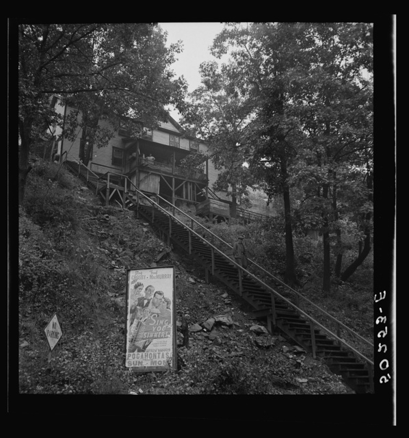 Home of Negro families. Mining town, Capels, West Virginia