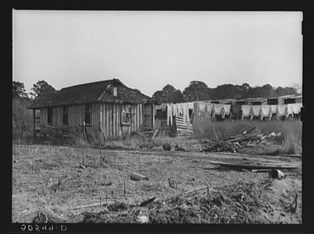 Home of sawmill worker. Ashepoo, South Carolina